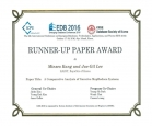 EDB 2016 Runner-Up Paper Award