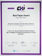 ACM CHI 2016 Best Paper Award